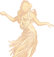 Hula Grill Girl Graphic